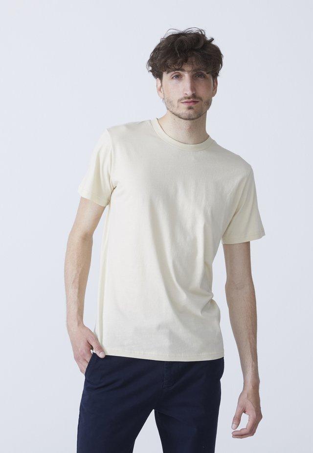 T-shirt - bas - sand