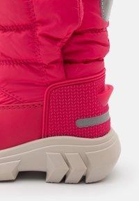 Hunter ORIGINAL - ORIGINAL KIDS BOOTS - Zimní obuv - bright pink - 5