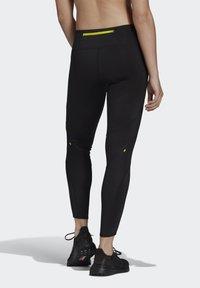 adidas Performance - 3-STRIPES SPORTS LOOSE - Tights - black - 2