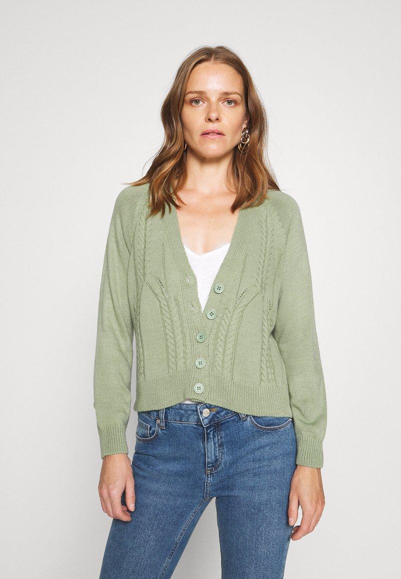 Trendyol - Cardigan - mint