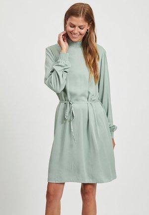 VIDANIA SMOCK DRESS - Day dress - green milieu