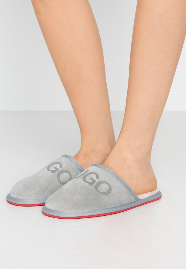 EXCLUSIVE COZY SLIP - Kapcie - light grey