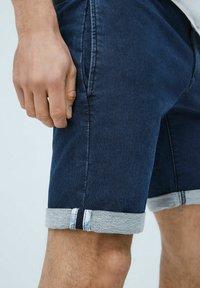 Pepe Jeans - JAMES - Denim shorts - indigo blau - 3