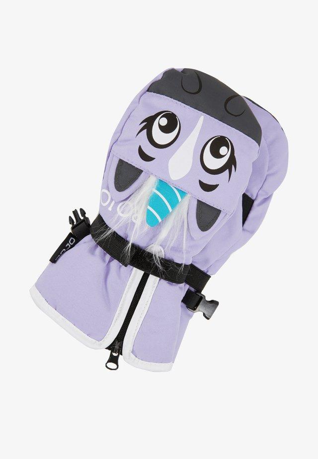 UNISEX KIDS WOODLAND MITT - Lapaset - purple