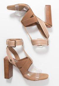 River Island - Sandaler med høye hæler - light pink - 3