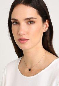 Swarovski - ICONIC SWAN PENDANT - Necklace - rosegold-coloured/black - 1