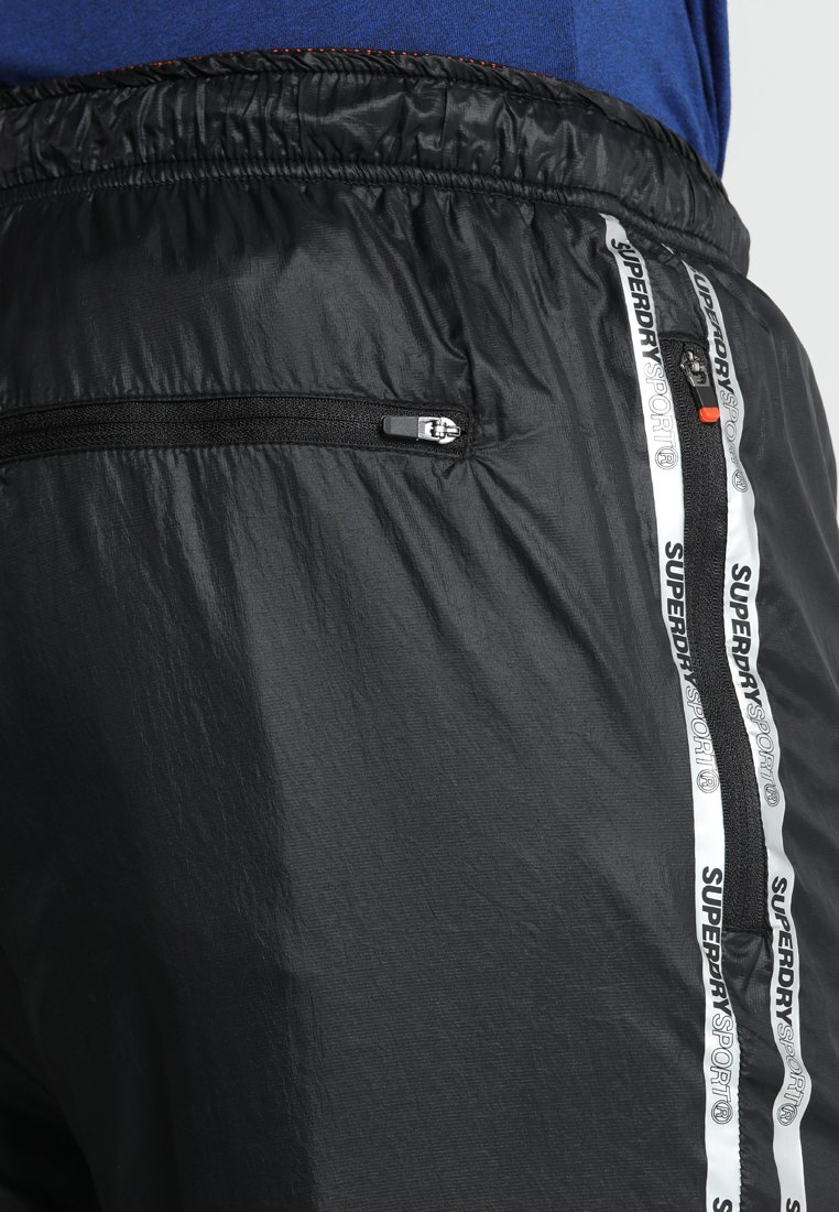 Superdry Pantalon de survêtement - black
