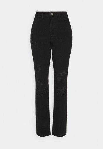 DISTRESSED - Jeans slim fit - black