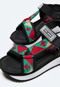 Pepe Jeans - FUJI ETHNIC - Sandały na platformie - middle green - 5