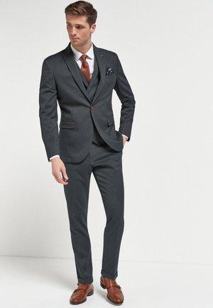 HERRINGBONE - Suit jacket - grey