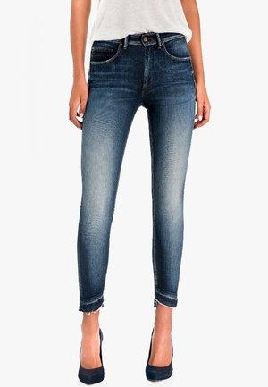 PUSH UP - Slim fit jeans - dark-blue denim