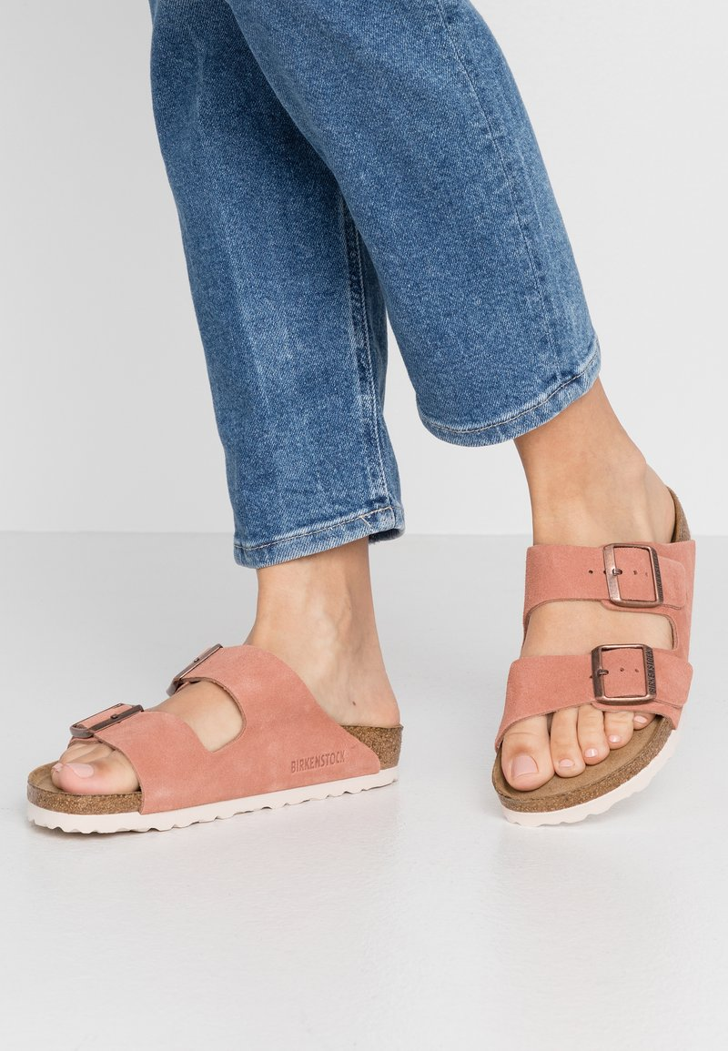 Birkenstock - ARIZONA - Slippers - earth red