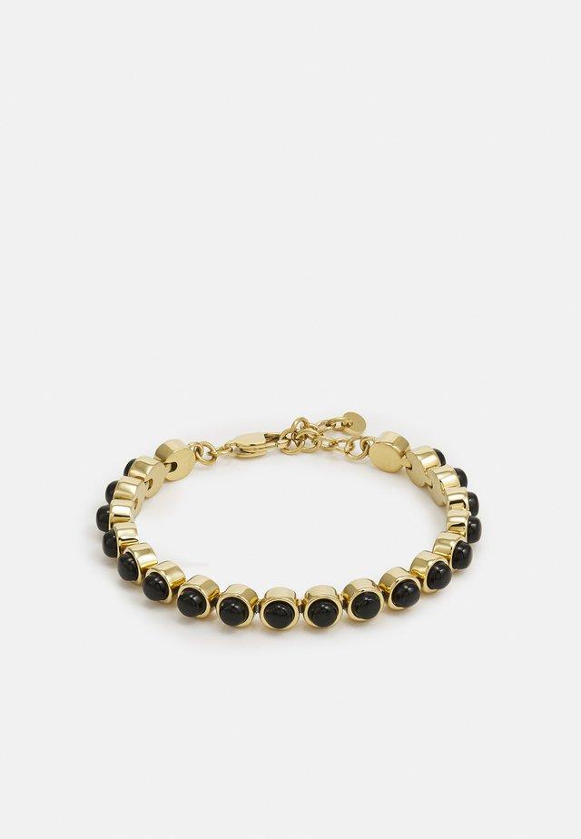 ARMINE  - Bracelet - gold-coloured/black
