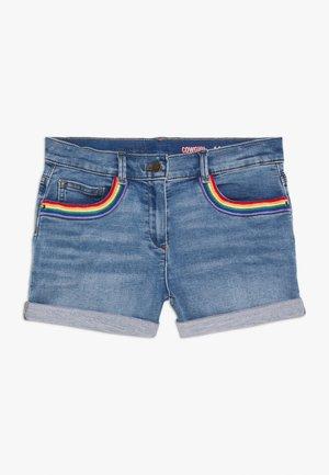 RAINBOW POCKET - Denim shorts - sasha wash