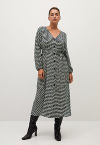 Violeta by Mango - LEOPARD7 - Shirt dress - ecru - 0
