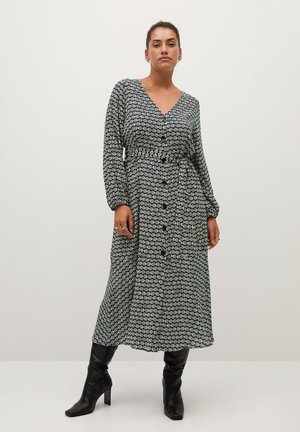 LEOPARD7 - Shirt dress - ecru