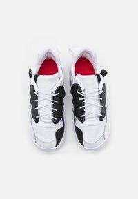 Jordan - MA2 UNISEX - Basketball shoes - white/black/university red/light smoke grey/praline - 3