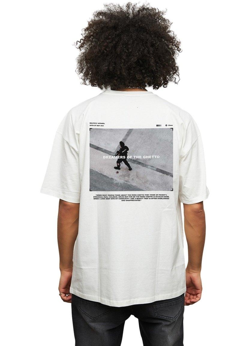 Multiply Apparel - T-shirt med print - white