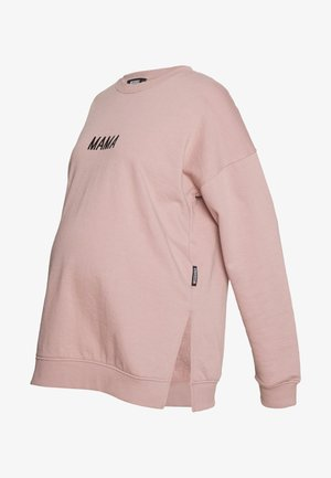 MATERNITY MAMA - Sweatshirt - rose pink