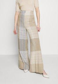 MRZ - KARO PANT - Kalhoty - brown - 0