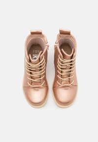 Cotton On - LACE UP ROXIE BOOT - Lace-up ankle boots - rose/gold - 3