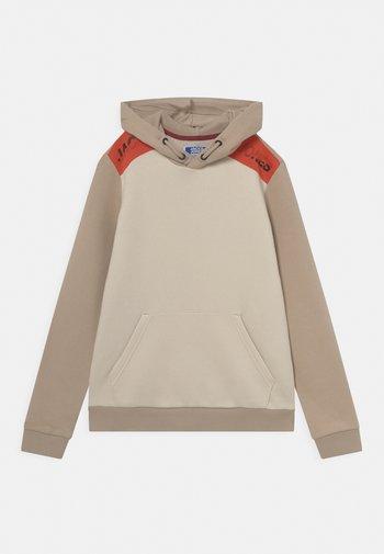 JCOAMIN HOOD JR - Sweatshirt - beige