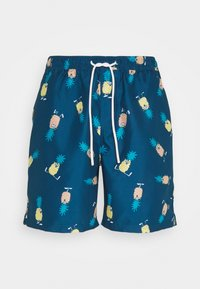 Lousy Livin Underwear - SHORTS ANANAS AND TOWEL - Plavky - blue - 1