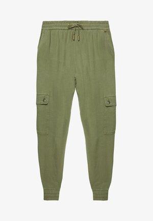 PANTS - Trousers - safari green