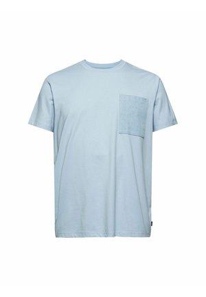 Print T-shirt - light blue 3