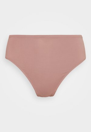 HIGHWAIST SMOOTING BRAZILIAN - Bikiniunderdel - rose taupe