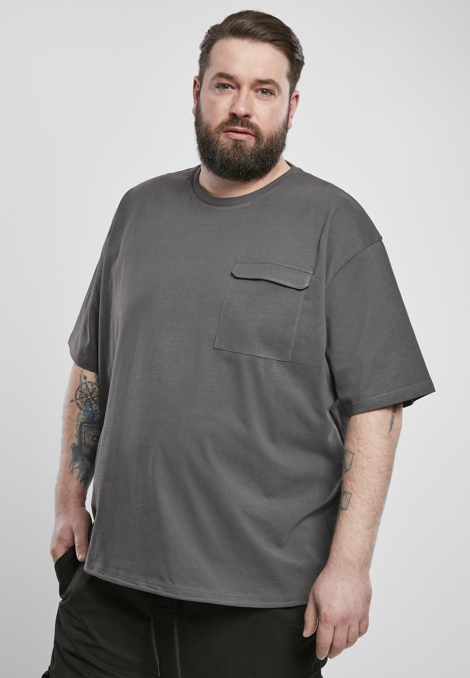 Homme URBAN CLASSICS HEAVY BOXY TACTICS TEE - T-shirt basique