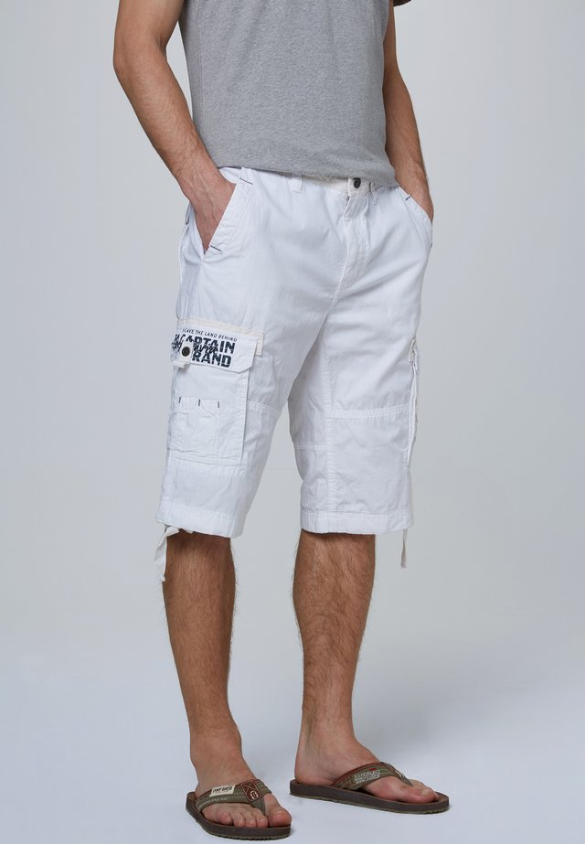 MIT ARTWORKS - Shorts - white
