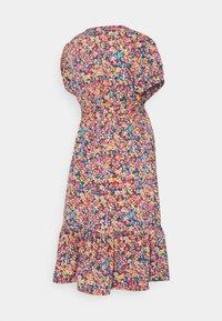 MAMALICIOUS - MLTENNA TESS DRESS - Vestido informal - blue/pink/orange - 1