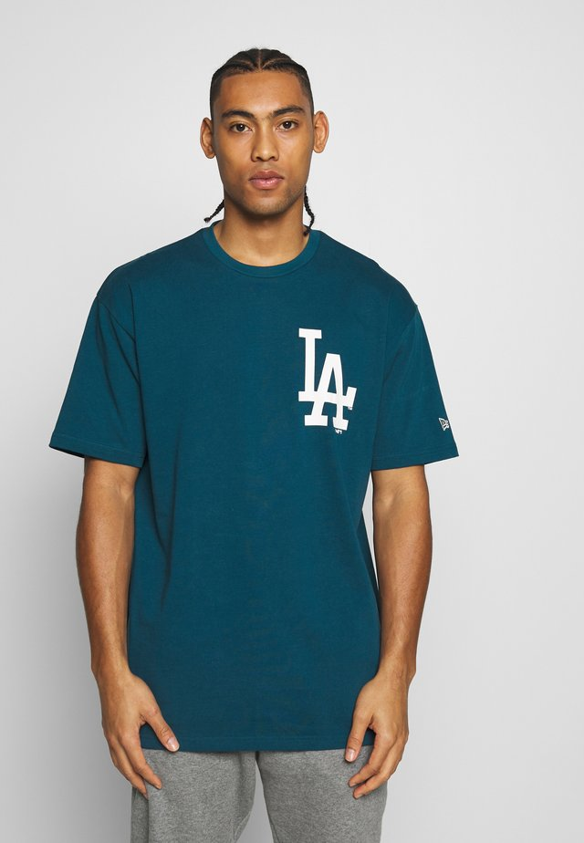 MLB BIG LOGO OVERSIZED TEE LOS ANGELES DODGERS - T-shirt con stampa - blue