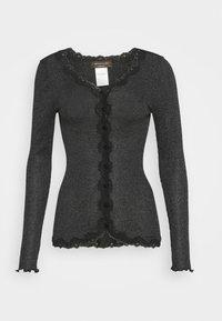 Rosemunde - CARDIGAN - Cardigan - black shine - 3