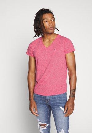 VNECK TEE - T-shirt basic - bright cerise pink