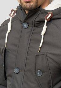 INDICODE JEANS - Winter coat - gray - 5