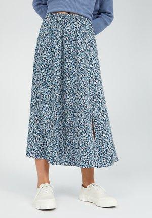 KATINKAA PRIMROSE - A-line skirt - foggy blue