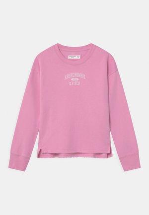 LOGO CREW - Sweatshirt - pink