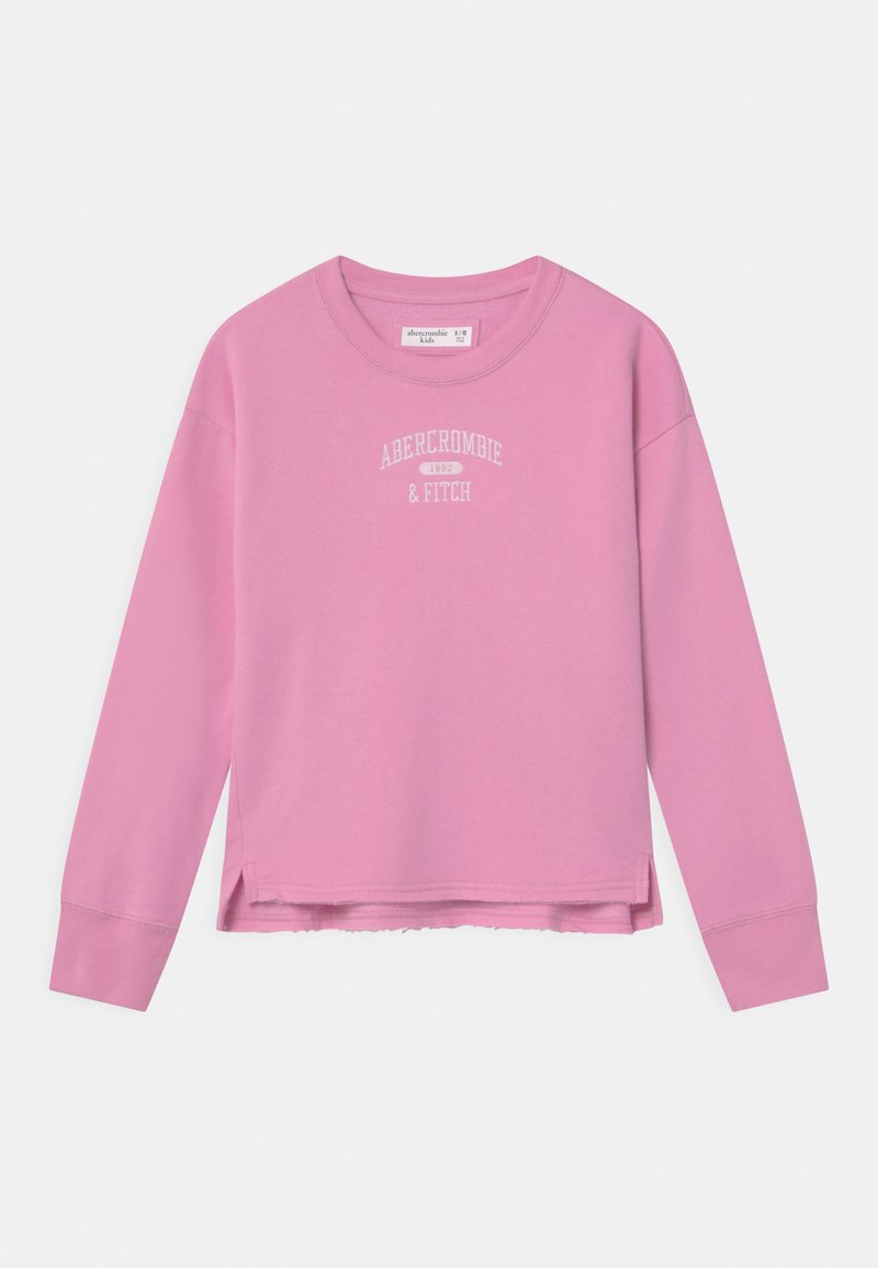 Abercrombie & Fitch - LOGO CREW - Sweater - pink