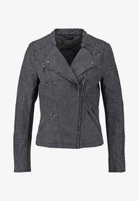 ONLY - ONLAVA BIKER  - Faux leather jacket - black - 7