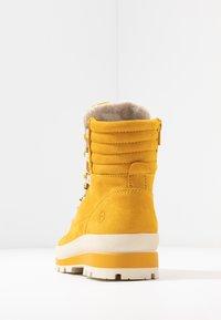 Tamaris - Lace-up ankle boots - saffron - 5