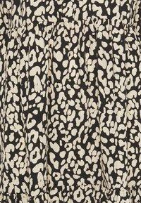 Kaffe - KAKINDA DRESS - Day dress - black/beige - 6
