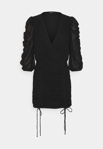 MICHELLE DRESS - Sukienka koktajlowa - black