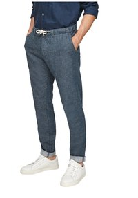 s.Oliver - Trousers - blue - 3