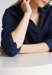Esprit - Shirt dress - blue dark wash - 3