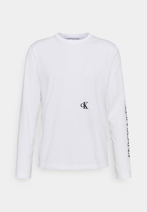 CAR PHOTOPRINT TEE - Maglietta a manica lunga - bright white