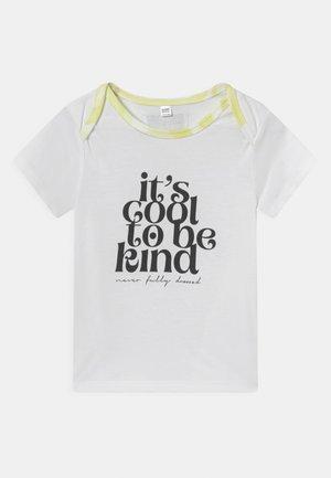 BABY SUNSHINE TEE - T-shirt print - white