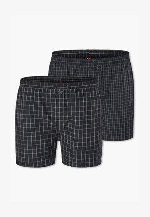2ER-PACK - Onderbroeken - grey checks