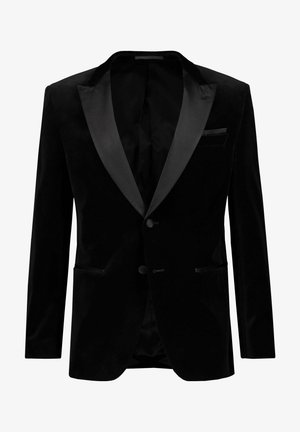 SLIM FIT - Blazer jacket - schwarz